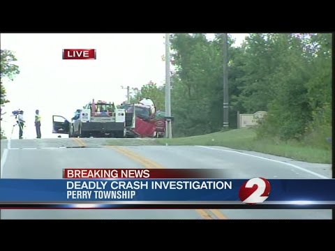 Deadly crash in Perry Township