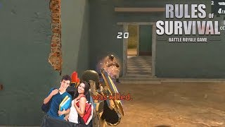 PUTTING RANDOMS IN MY BACKPACK! Rules of Survival PC Gameplay