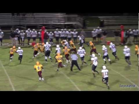American Heritage Delray Vs Glades Central High School Football Highlights Sept 13, 2012