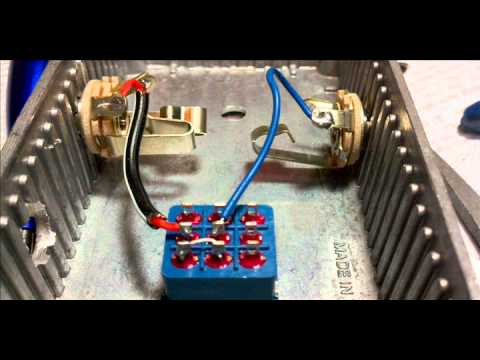 [SCHEMATICS_48ZD]  Tutorial - wiring a footswitch for a guitar effect do it yourself foot  switch - YouTube | Wiring Diagram Guitar Amp Footswitch |  | YouTube