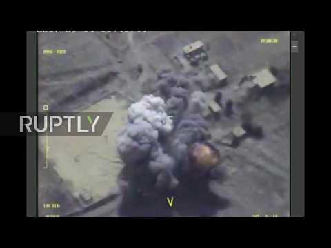 Syria: Russian forces strike IS targets in Deir Ez-Zor region