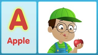 The A Song (Uppercase) | Super Simple ABCs