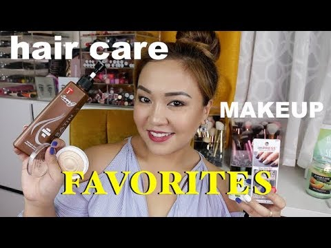 FEBRUARY FAVORITES:  HAIR CARE, MUKAP ATBP!