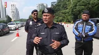 Pemeriksaan ketat polis halang rentas negeri