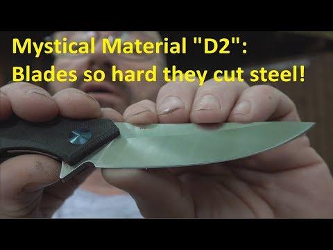 8 Pocket Knives That Cut Steel! Part 1/3