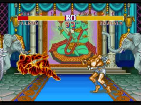 Street Fighter II-Dhalsim's Yoga Flame