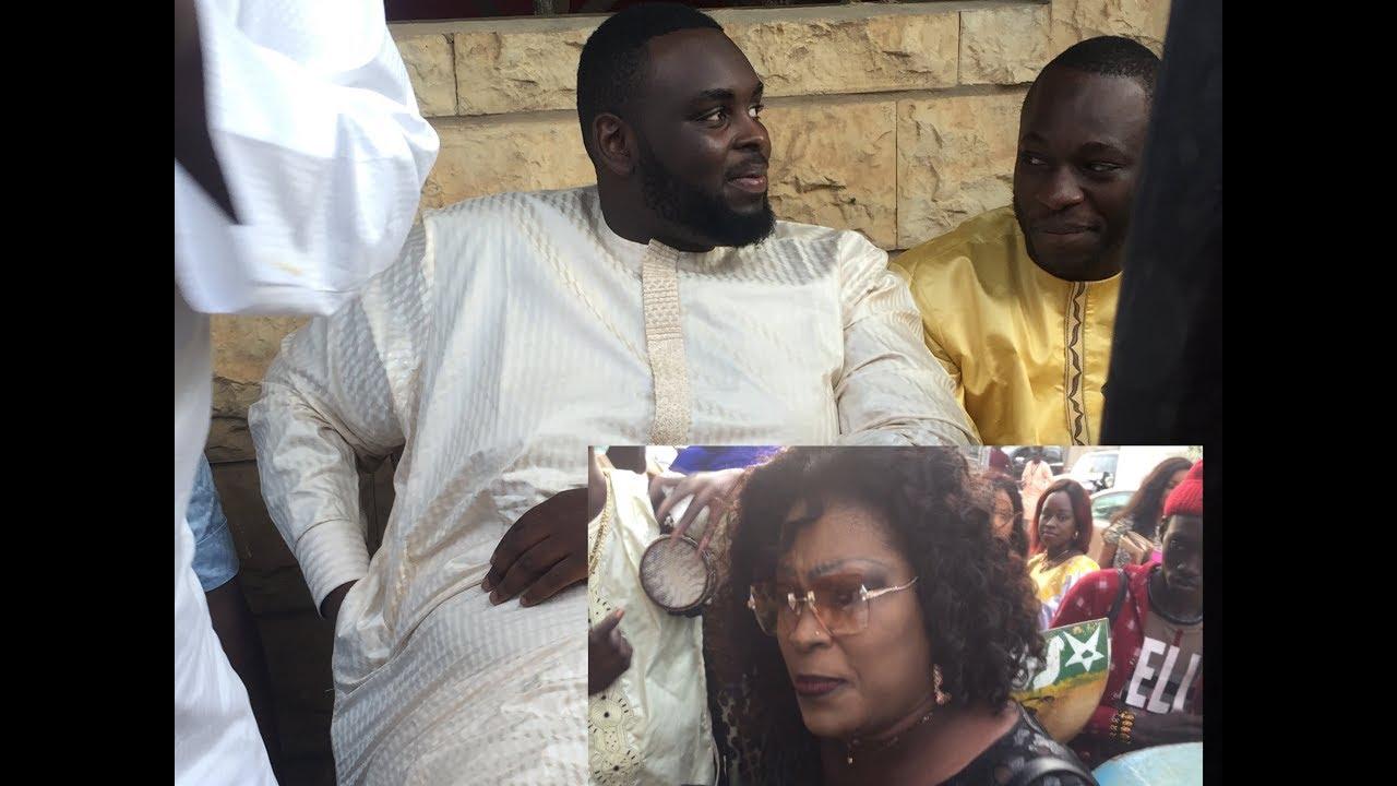 Vidéo- le fils de Macky Sall, Amdaou Sall assiste au leumbeul de Ngoné Ndiaye Guéweul