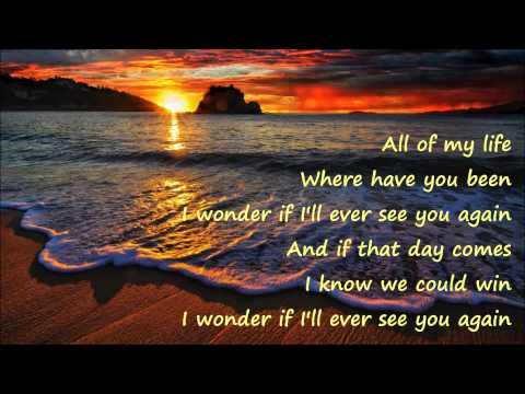 Lenny Kravitz -  Again (Lyrics on screen)