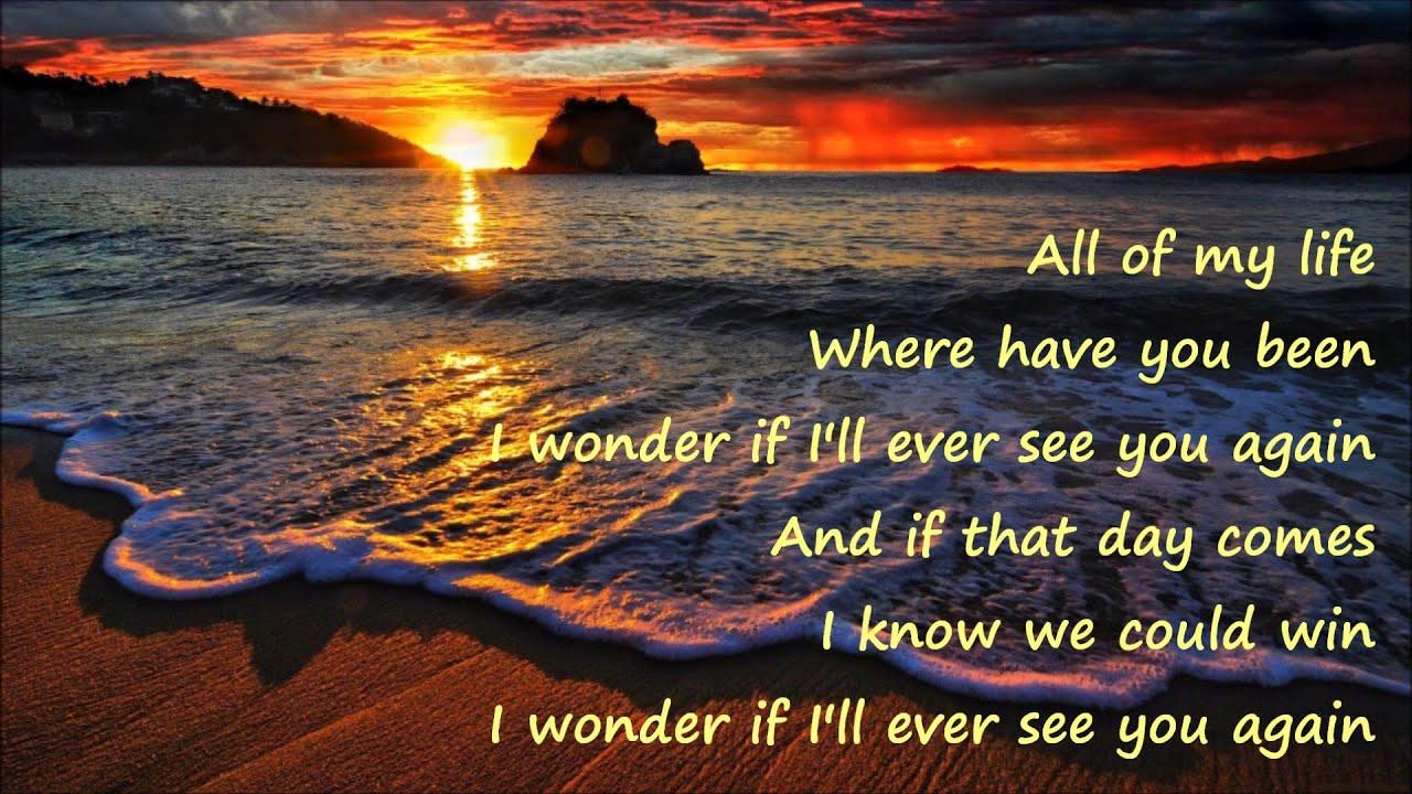 Lenny Kravitz - Again (Lyrics) - YouTube