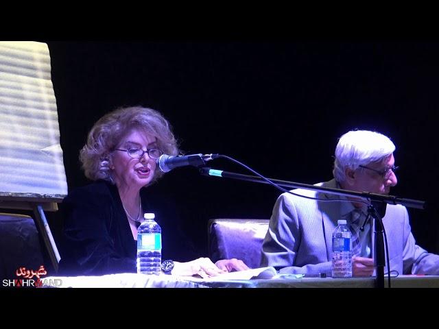 گزارش رونمایی پیامک حوا و ماهی در بیابان و عروس نخل ها -شهروند - بهرنگ رهبری