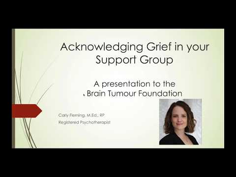 Acknowledging Grief in your Support Group