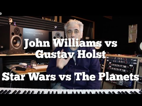 John Williams vs Gustav Holst or Star Wars Vs The Planets