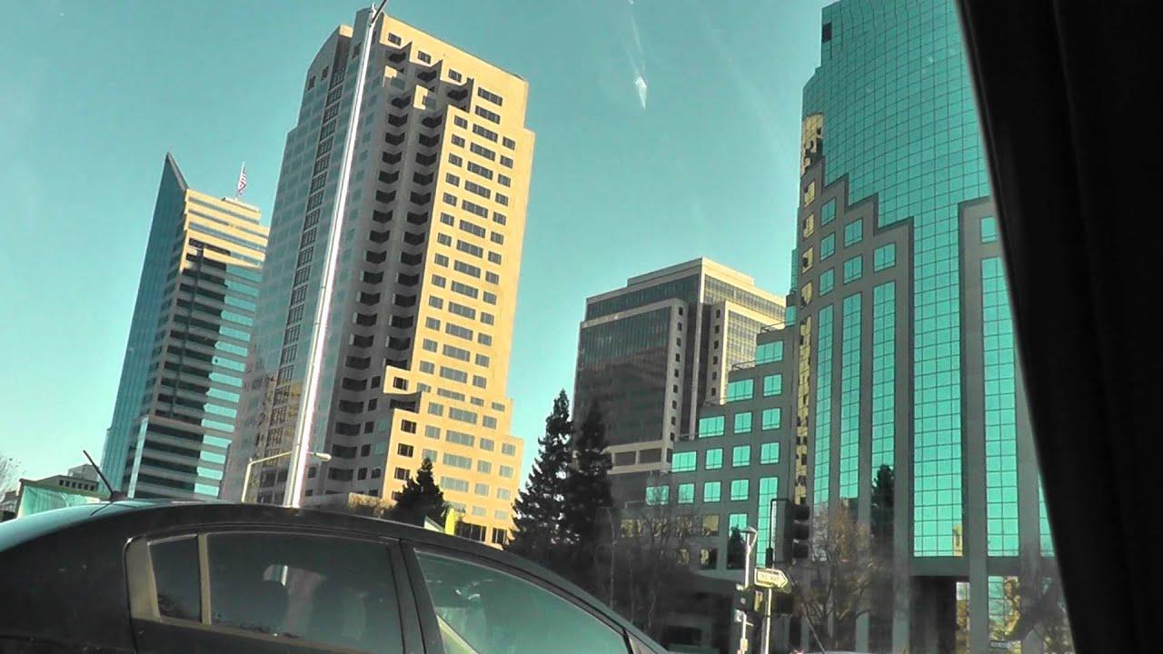 downtown sacramento big buildings skyscrapers youtube. Black Bedroom Furniture Sets. Home Design Ideas