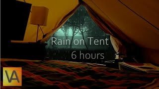 Repeat youtube video ☔Nature Sounds: Rain on a Tent High Quality (relaxing, sleeping, studying)