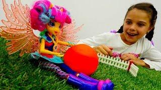 Девочки из Эквестрии - Конкурс урожая - Видео для девочек