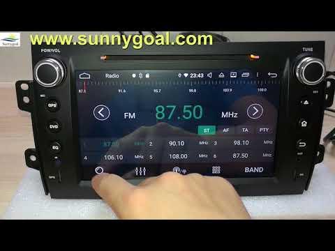 Test: Android 9 Aftermarket Car Navigation For Fiat Sedici 2006 2007 2008 2009 2010 2011 2012 2013