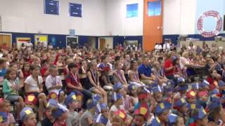 Navy Dad surprises son at Snow Hill elementary