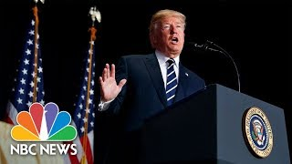 President Donald Trump Attends Swearing-In Of New CIA Director Gina Haspel | NBC News