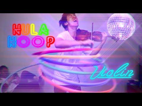 Playing Violin while Hula Hooping