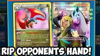 DIRTY Combo! Salamence/Deliquent RIP HAND! W/Zoroark GX/Gallade! Expanded PTCGO