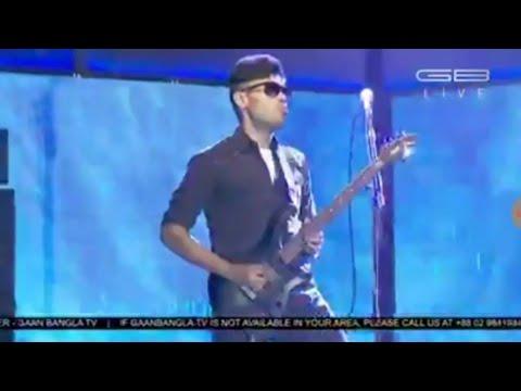 AB Son Ahnaf Tajwar Play Awesome Guitar With LRB | Gaan Bangla | Ayub Bachchu