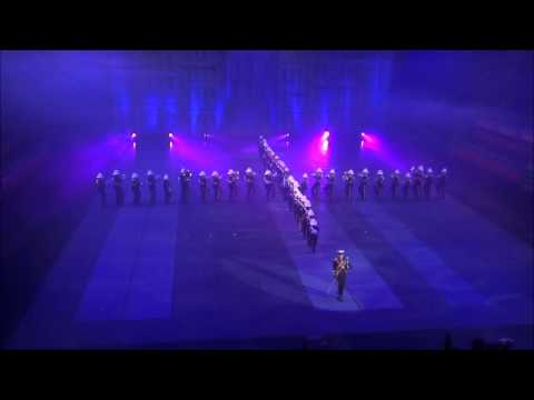 The Royal British Legion Band & Corps Of Drums Romford Int. Tattoo Belgium 2015