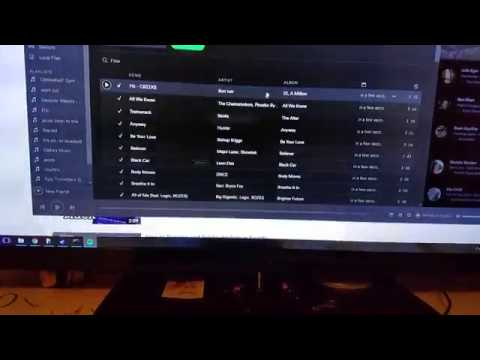 How to delete ALL your music off Spotify(computer and phone)