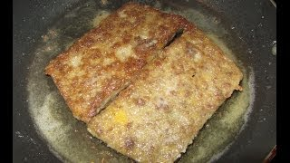 Vension Scrapple - Awesome Pon Haus Recipe