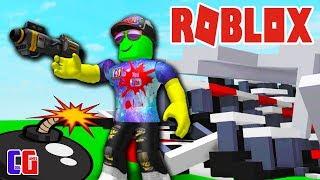 distruzione SIMULATOR in ROBLOKS! Sconfitto il rostro e la RACING TRACK distruzione Simulator Roblox