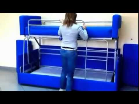 proteas sofa bunk bed australia natuzzi power reclining amazing to transformation youtube
