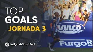 Todos los goles de la Jornada 3 de LaLiga SmartBank 2019/2020