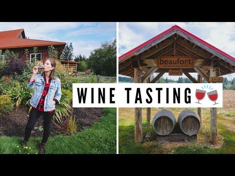 Visiting COMOX VALLEY + WINE TASTING 🍷🍇 | Vancouver Island, British Columbia, Canada
