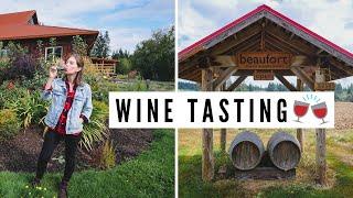 Visiting COMOX VALLEY + WINE TASTING ?? | Vancouver Island, British Columbia, Canada
