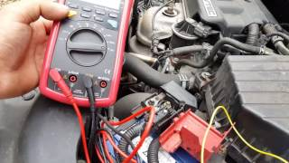 Honda Civic 2006 draining the battery. Fault finding and root cause.