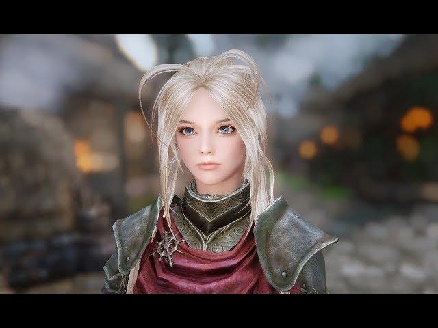 Skyrim Mods - HDT Luckystars Hair | GamerHow | Gamers