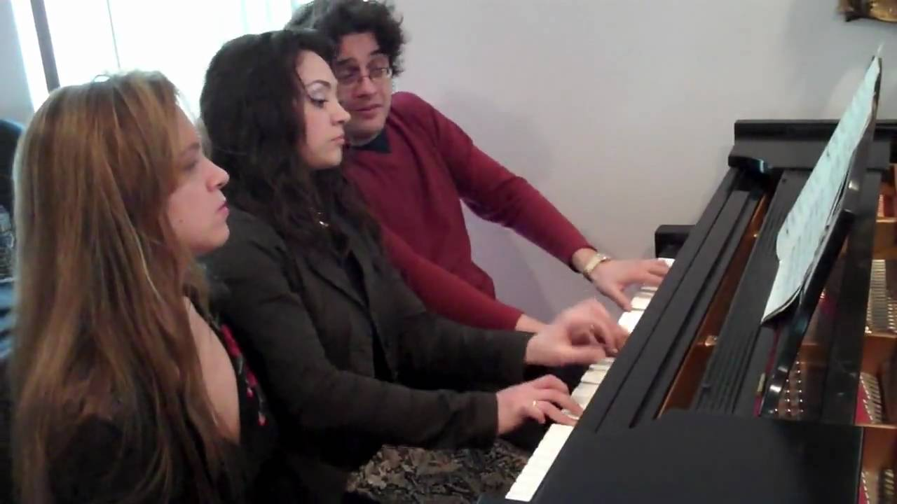 The Russian Stravinsky flipCam Video #3  The Mogilevskys Perform a Rachmaninoff Waltz for Six Hands