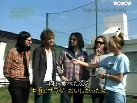 The Raconteurs FujiRock Interview August 2006