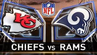 Simulation Saturday S2| Week 11| Kansas City Chiefs Vs. Los Angeles Rams