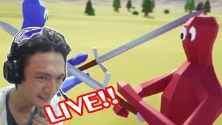 totally accurate battle simulator Live :-ฝ่าด่าน 1- 20 กันสดๆ ;w;b!