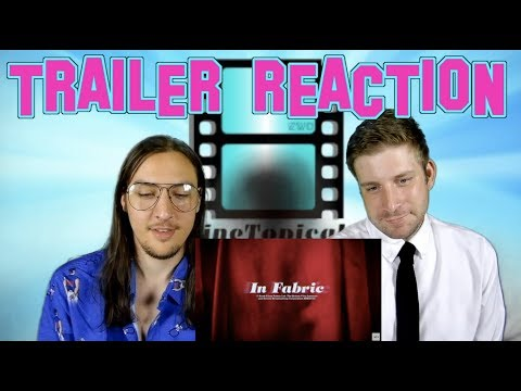 In Fabric | Official TRAILER – REACTION #InFabric #A24 #Scary #horrormovie