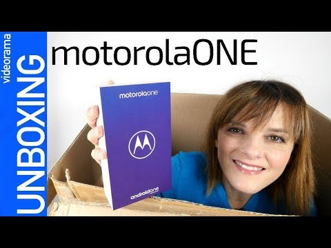 Motorola ONE unboxing y preview -Android ONE para todos-