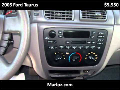 2005 ford taurus used cars high point nc youtube. Black Bedroom Furniture Sets. Home Design Ideas