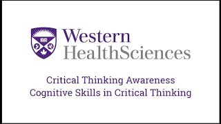 what are the army cognitive skills in critical thinking Critical thinking includes identification of prejudice, bias, propaganda, self-deception, distortion, misinformation, etc given research in cognitive psychology, some educators believe that schools should focus on teaching their students critical thinking skills and cultivation of intellectual traits.
