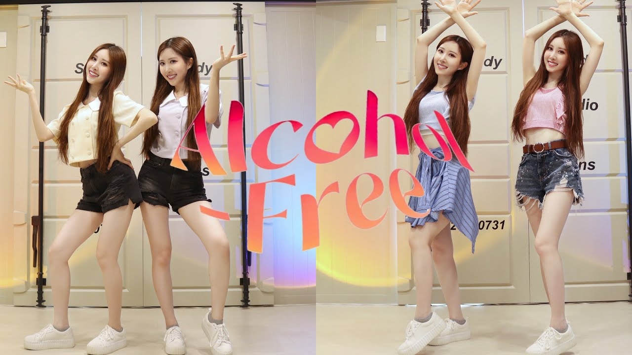 """TWICE """"Alcohol-Free"""" Dance cover by Sandy&Mandy"""