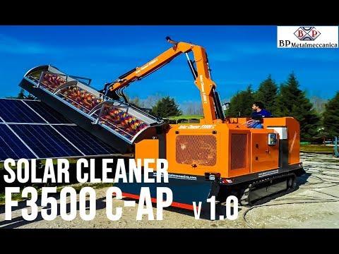 Macchina Pulizia Lavaggio Pannelli Fotovoltaici Solar
