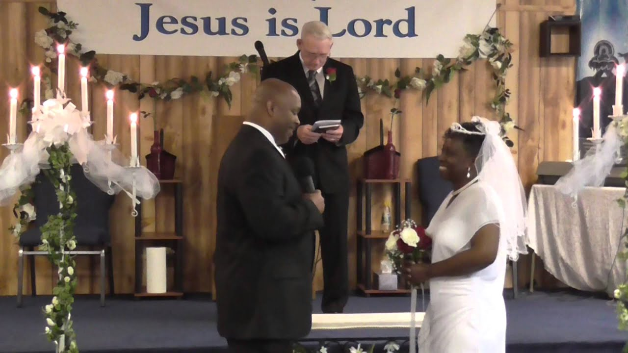 Pastor Kenneth Ruby Smith 30th Wedding Anniversary Vows