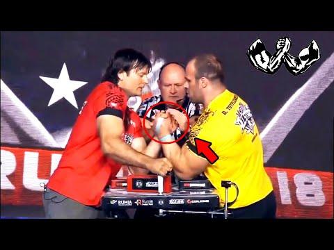 Армрестлинг Денис Цыпленков vs Девон Ларрат Armrestling Denis Cyplenkov vs Devon Larratt