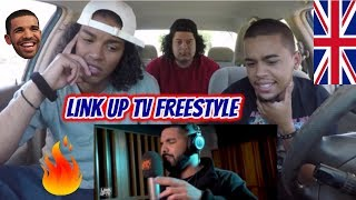 Drake - Behind Barz | Link Up TV (FREESTYLE) REACTION REVIEW