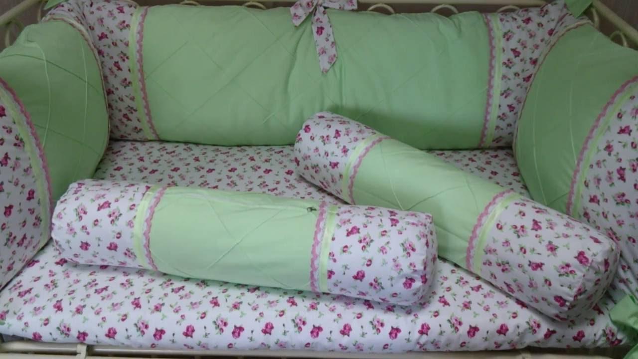Шьем постельное белье в детскую кроватку