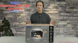 Epson WorkForce WF-3520 All-in-One Unboxing Experience